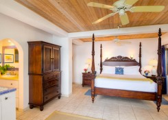 CARIBE #3 KING SUITE with kitchenette, Tommy Bahama mahogany furniture.