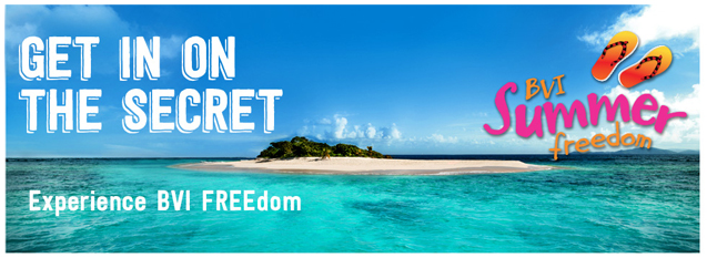 The British Virgin Island's website has Summer FREEdom specials with vacation deals for everyone!